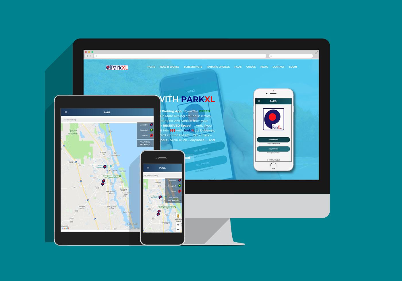 ParkXL Mobile App image